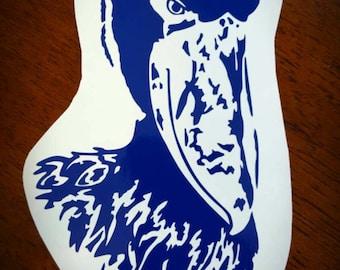 Vinyl Decal- Shoebill Stork