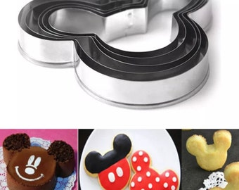 Mickey Mouse Cookie Cutter Set  N4