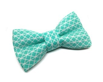 Pet Bow Tie, Cat Bow Tie, Dog Bow Tie, Mint Green Bowtie, Paw Parade