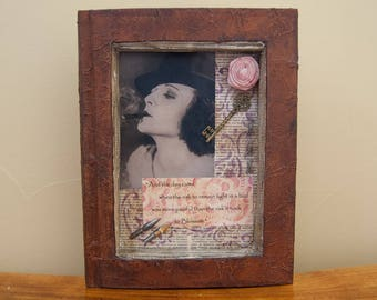 Assemblage Art - Altered Book Art - Poetry Art - Anaïs Nin