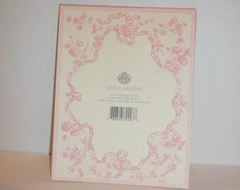 Anna Griffin Scrapbook Diecut Paper Frames Cardmaking Supplies Pink Roses Frames Pink Ribbon