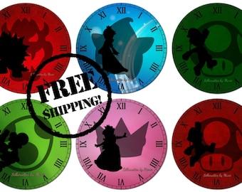 Mario Clocks