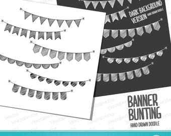 Banner Bunting Doodle