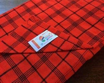 African Maasai Shuka Maasai leso 100% Acrylic