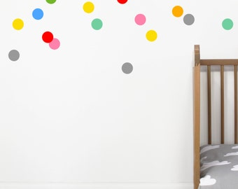 Colour Pop Dot Wall Stickers