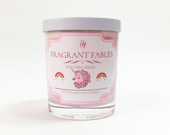 Unicorn Magic | Scented Soy Wax Candle