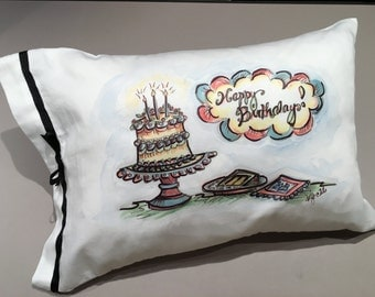 Happy Birthday! Pillow