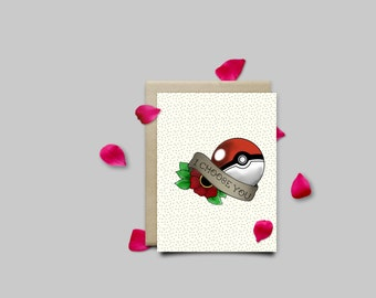 I Choose You Valentines Card