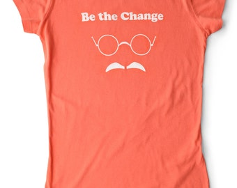 Be The Change Women's Yoga T-shirt