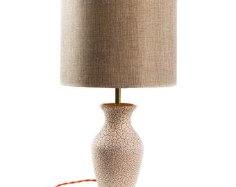 Vintage Jasba pottery lamp