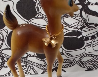 Vintage plastic Deer kitsch Bambi Fawn