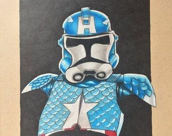 Star Wars - Original Drawing.