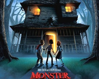 Monster House 11x17 Promo Movie Poster