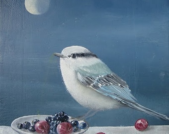 The Blue Bird by the light of the Moon/Blue bird inthe moonlight