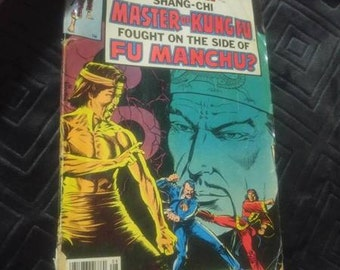 "1979 Marvel Comic Book ""What If Shang-Chi Master of Kung Fu Fought On the Side of Fu Manchu?"""
