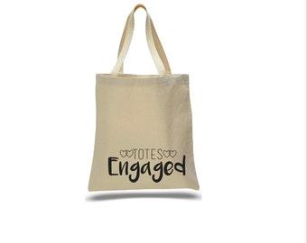 Totes Engaged- tote bag- wedding planning- wedding bag- totes- bag- wedding planning bag- engagement gifts