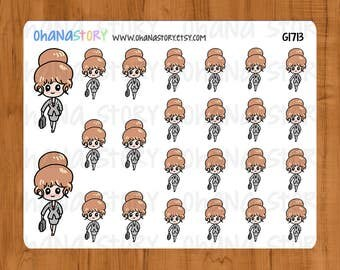 Janine's Work Day Planner Stickers (G1713)