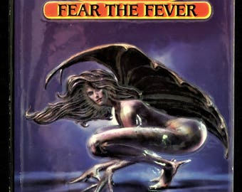 Vintage Book - Hot Blood Series - FEAR THE FEVER - An Anthology