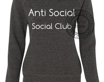 Anti Social Social Club  shirt woman sweatshirt gift custom kanye funny