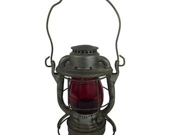 Dietz Vesta Brakeman's Lantern Red Globe Boston & Maine RR c. 1946