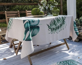 Outdoor tablecloth | Etsy