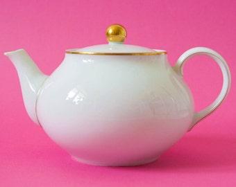 Vintage teapot, porcelain factory, ARZBERG, Bavaria