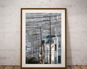 "San Francisco Street Art Photography, California, ""Telegraph Road"", Fine Art Photography, 20 cm x 30 cm, 8"" x 12"""