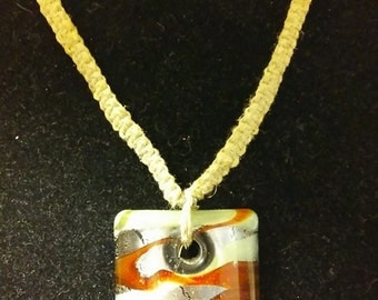 Handmade Hemp Twine necklace
