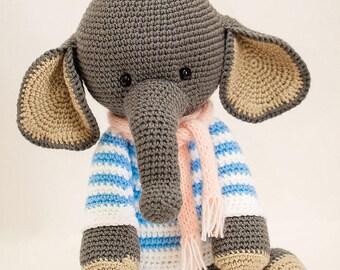 ELEPHANT ALFRED handmade animal/studio photography prop/children photography/unique gift
