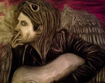 Kurt Cobain angel wings