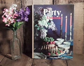 Vintage Southern Living Party Cookbook Hardcover