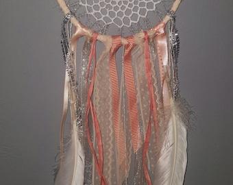 Dreamcatcher 20cms crochet feminine
