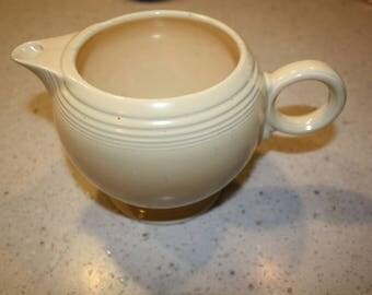 Fiesta Ivory Teapot