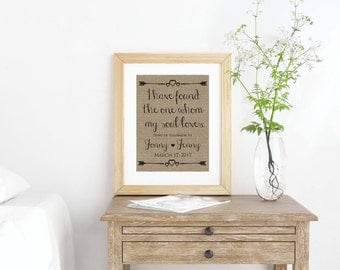 Christian Wall Art- Bible Verse Print- Song of Solomon 3:4- Christian Decor- Christian Home Decor- Bible Verse Wall Art- Christian Gifts