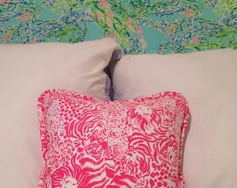 Lilly Pulitzer Handmade Pillow