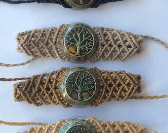 Orgon woven macrame bracelet