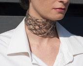 Matrix - 3d Printed Steel Necklace