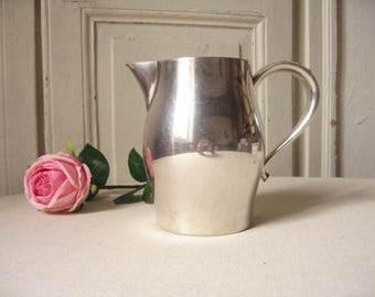 WM A. Rogers silver plated jug / Reproduction of P. Revere / silver, silver plated Carafe pitcher / jug with water, wine / chic Table