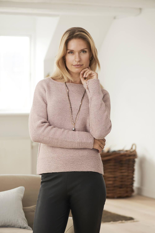 Raglan knit boat neck pullover sweater pdf knitting zoom bankloansurffo Images