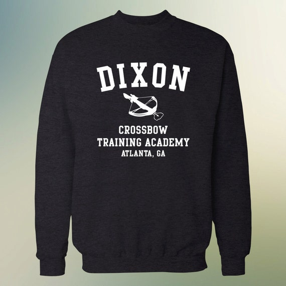 """The Walking Dead """"Dixon Crossbow Training Academy"""" Sweater S-3XL Available TWD"""