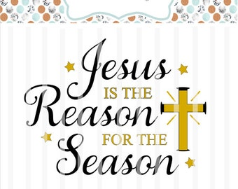 Jesus reason season | Etsy