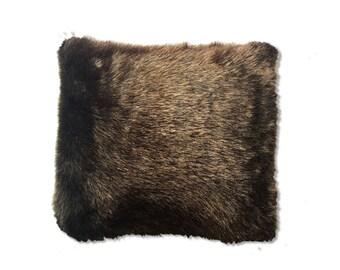 faux fur luxurious faux fur pillow faux fur fabric pillow throw pillows
