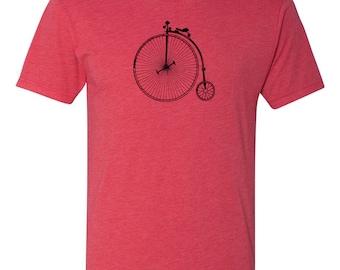 Vintage Bicycle Men's T-Shirt in Vintage TriBlend Red