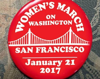 WOMEN'S MARCH on Washington San Francisco supporters January 21 2017 election trump clinton