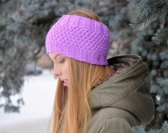 Ear Warmer Headband, Knitted Ear Warmer, Knitted Head Band, Warm Knit Headband, Knit Headband, Headband
