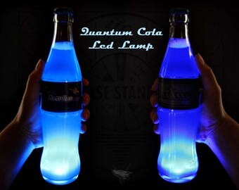 Quantum Cola Lamp Led Glow Vegas/Commonwealth invisible Base