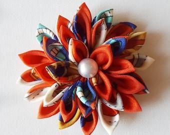 Red Flower Pin - Flower Brooch - Brooch Pin - Flower Pin - Brooch - Red Brooch - Flower Accessories - Flower Jewelry