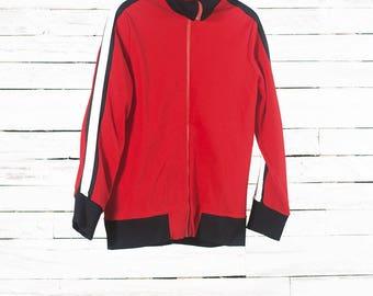 Sports jacket   Activewear   Training jacket   Red sport's wear   Red athletic jacket   Red stretch sportswear