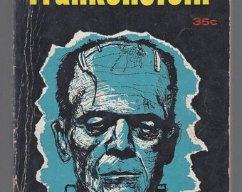 Frankenstein By Mary Shelley Pyramid Books 1957 1st Edition