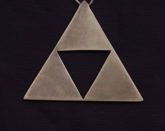 Inspired by Zelda Triforce pendant